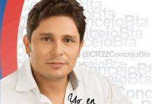 Leonardo Fernández es candidato de Cambio Radical al Concejo de Bogotá