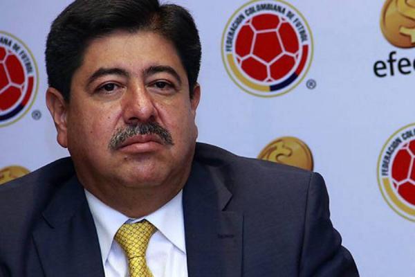 Luis Bedoya, presidente de la Fedefútbol