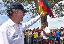 Gobierno inauguró La Ruta del Sol en La Gloria, Cesar