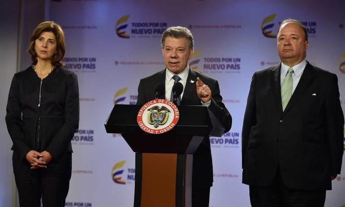 Presidente Santos y Canciller
