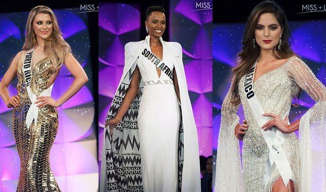 Miss Puerto Rico, Miss Sudáfrica y Miss México