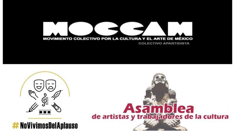 Artistas piden atención a sus demandas, sin convocatorias discriminatorias
