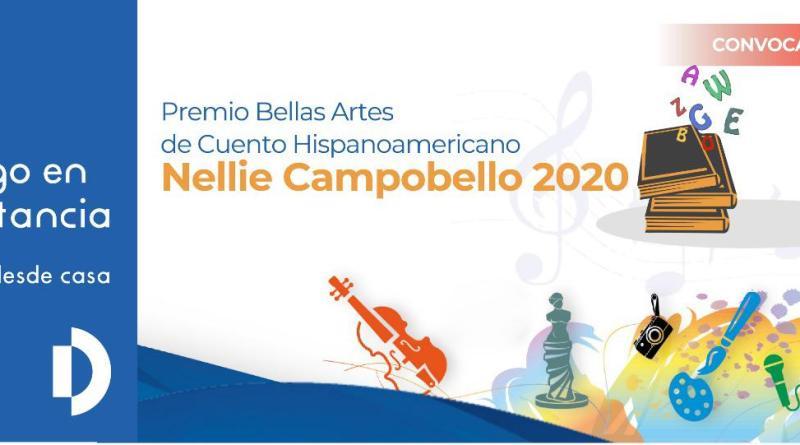 Inicia registro para Premio Bellas Artes de Cuento Hispanoamericano Nellie Campobello 2020