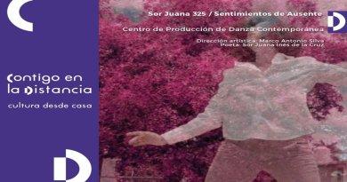 Ceprodac presenta ciclo de videodanzas Sor Juana