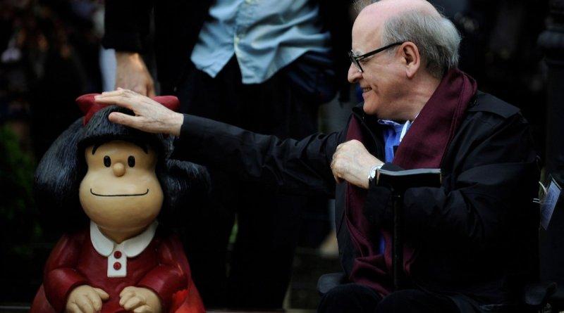 Muere Quino, creador de Mafalda a los 88 años