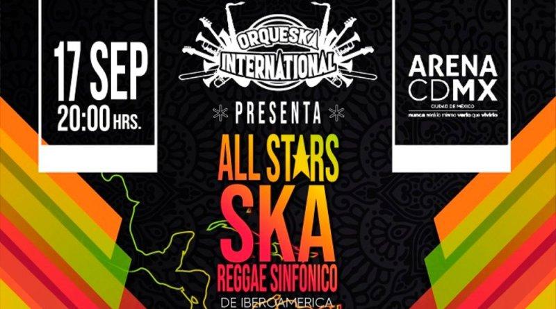 All Stars Ska Reggae Sinfónico de Iberoamérica prepara su 4ª edición