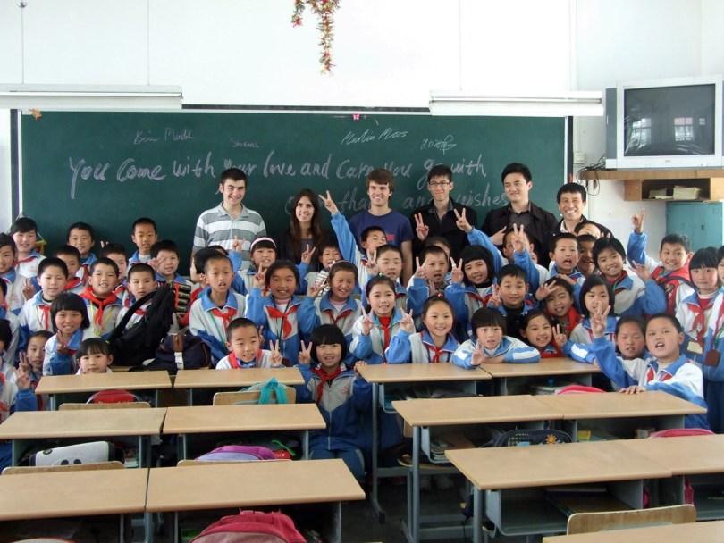 Учителя английского в Китае. Фото: projects-abroad.ca