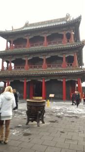 "A building inside Shenyang's ""Forbidden City"""