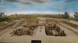 Model of ancient sites