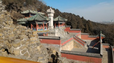 Buildings inside the Summer Palace