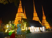 Wat Phra Kaew, this is the one we could go inside