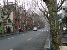 Near the French Concession.. I think? Who knows!