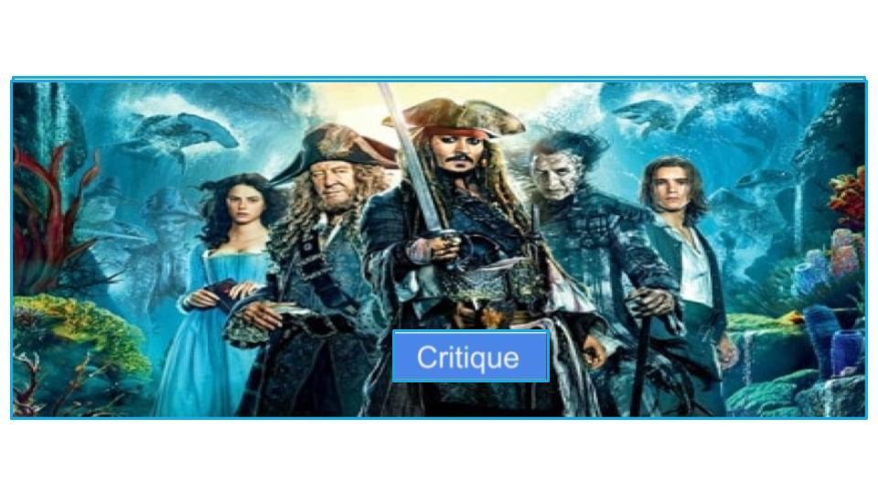 Pirates des Caraïbes 5 : le retour des premières amours