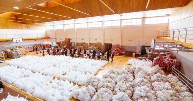 Gobierno entregó 306 mil módulos alimentarios para asistir a las familias fueguinas en pandemia