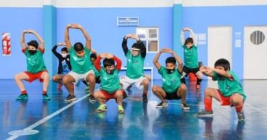 Río Grande: Con gran éxito, se realizó el Campus de Futsal con Pablo Vidal