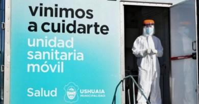 Ushuaia: Nueva Jornada de Hisopados Masivos en Barrio Río Pipo
