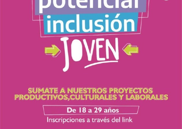 """""""Potenciar Inclusión Joven"""": Más Herramientas de Formación Laboral para nuestros Jóvenes"""