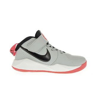 Nike Team Hustle D 9 (PS) (Gris-Naranja)