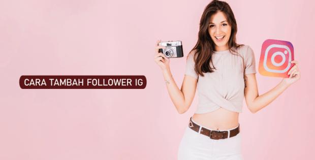 cara menambah followers instagram