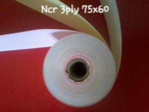 Kertas Printer Ncr 3ply 75X60 Struk Kasir (min 50 roll)