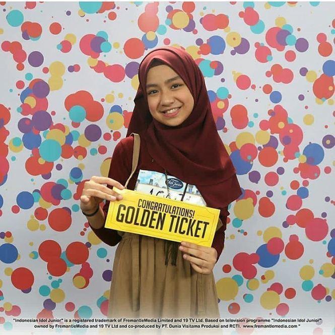 Nashwa Kontestan Indonesian Idol Junior Cantik, Pinter Nyanyi Pula!