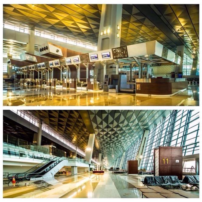 Foto-Foto Terminal 3 Ultimate Bandara Soekarno-Hatta Terbaru! (5)