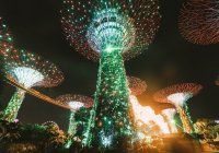tempat wisata Singapura : Garden by the Bay