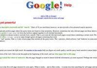 10 Tampilan Google Dari Masa Ke Masa!