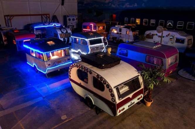 Hotel Unik dan Keren Yang Terbuat Dari Mobil