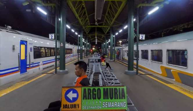 Informasi Seputar Stasiun Gambir Jakarta