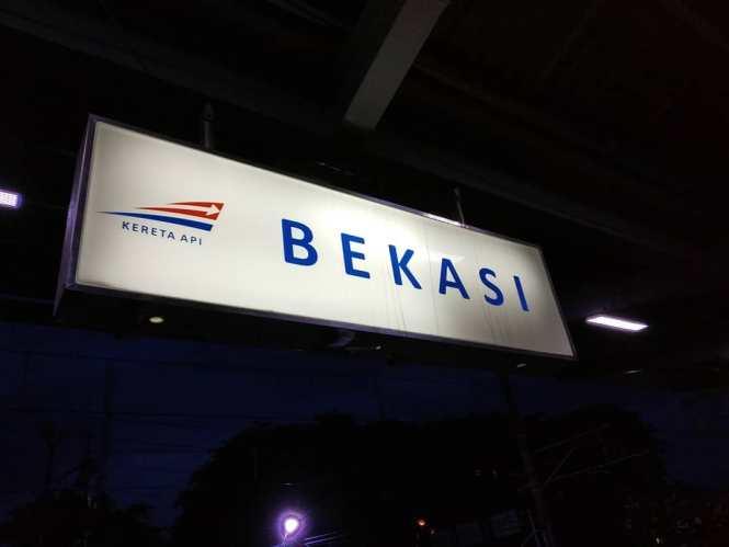 Jadwal KRL Bekasi Jakarta Kota Cikarang Terbaru