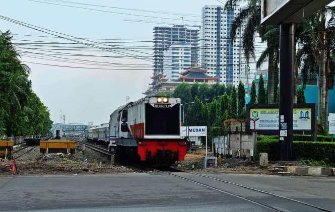 Stasiun Medan Stasiun Kereta Api Di Sumatera Utara