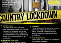 Wah! Ini Yang Terjadi Bila Lockdown Terjadi Di Indonesia Karena Virus Corona!