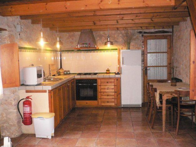 Cuina de la casa rural la Pallissa- Casa rural tarragona
