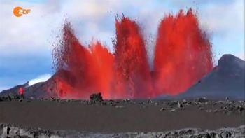 Bardarbunga Eruption nach Erdbeben