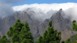 Wolkenphänomen auf La Palma
