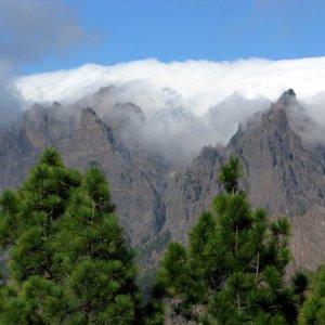 Wolkenphänomen La Palma