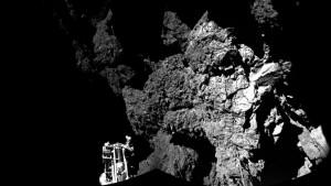 Kometenoberfläche