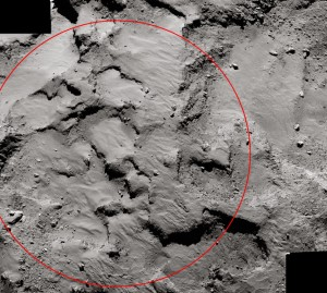 Kometen Landezone