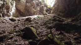 Höhleneinstieg