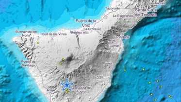 Teneriffa Erdbeben