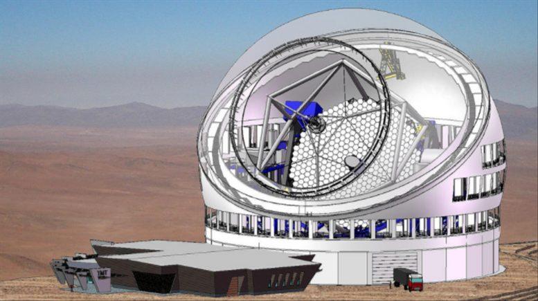 Riesenteleskop TMT
