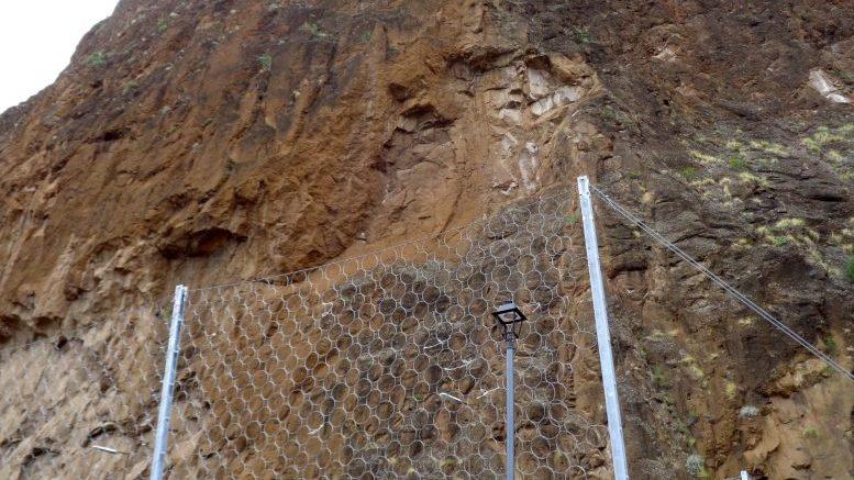 Felsrutsch