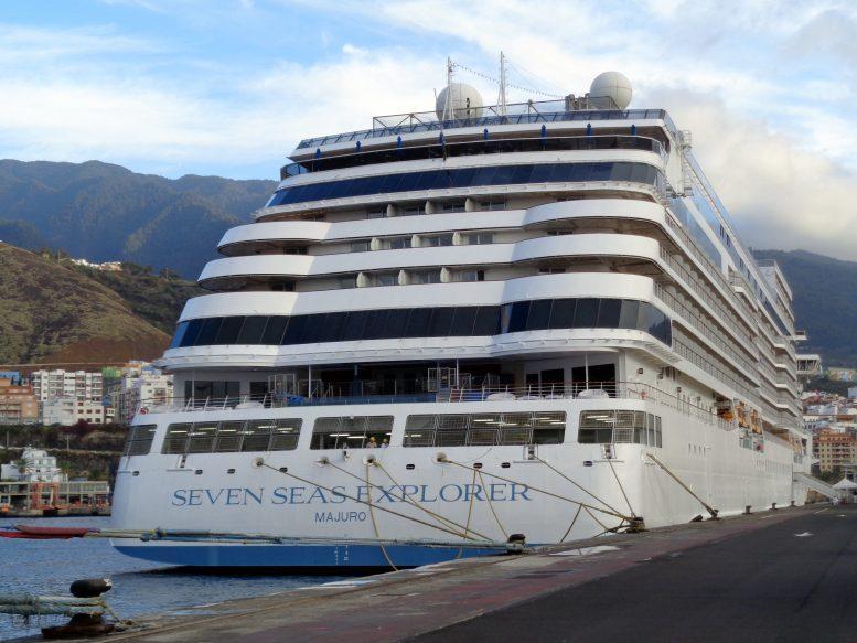 Luxus Kreuzfahrtschiff