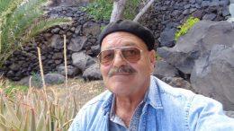 Manfred Betzwieser auf la isla El Hierro
