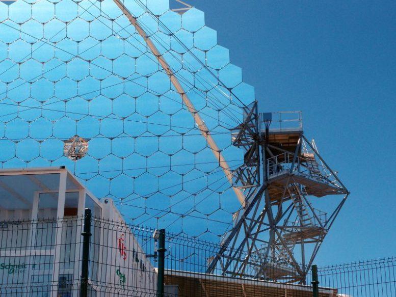 Japanisches Teleskop