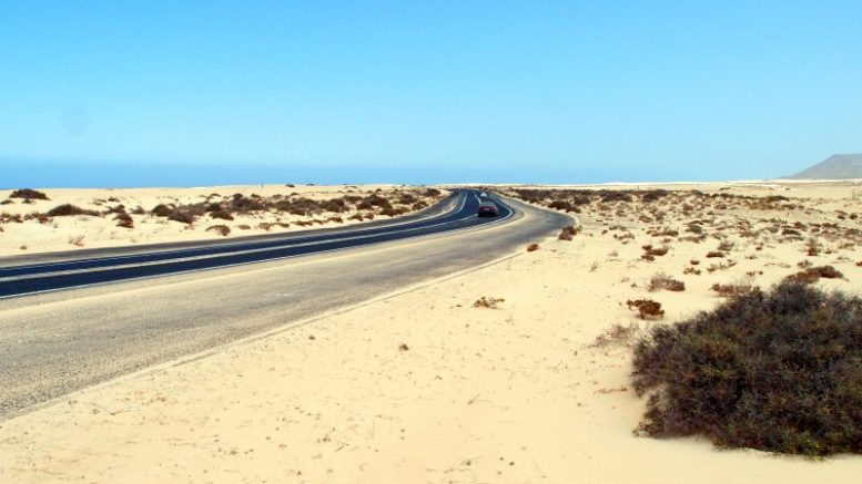 Sandwüste - Weißer Sand