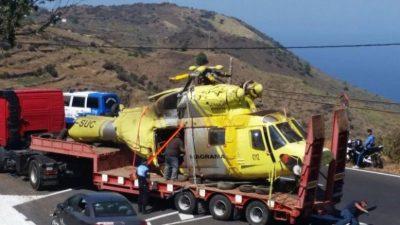 abgestürzter Helicopter