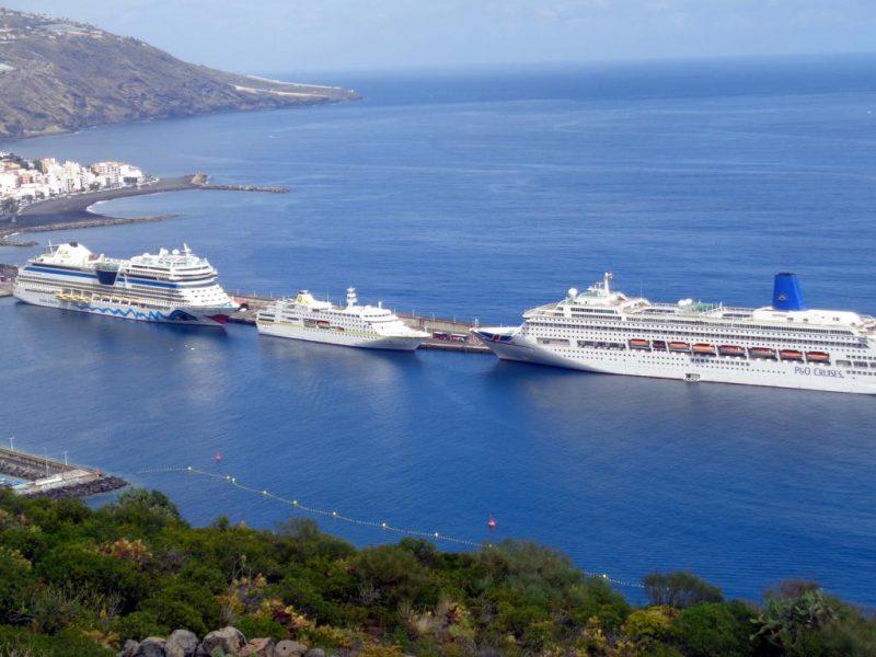 Hafen von La Palma - Erste Kanaren Kreuzfahrt