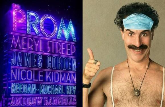 ¿Serán 'Borat 2' y el musical 'The Prom' las comedias del año?